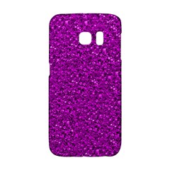 Sparkling Glitter Hot Pink Galaxy S6 Edge by ImpressiveMoments