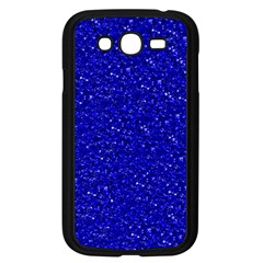 Sparkling Glitter Inky Blue Samsung Galaxy Grand Duos I9082 Case (black)
