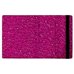 Sparkling Glitter Pink Apple Ipad 3/4 Flip Case by ImpressiveMoments