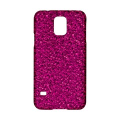 Sparkling Glitter Pink Samsung Galaxy S5 Hardshell Case  by ImpressiveMoments