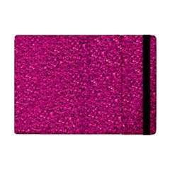 Sparkling Glitter Pink Ipad Mini 2 Flip Cases