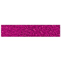 Sparkling Glitter Pink Flano Scarf (small)