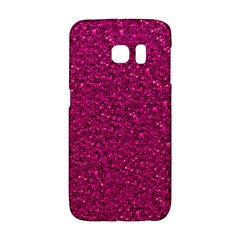 Sparkling Glitter Pink Galaxy S6 Edge by ImpressiveMoments