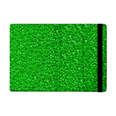 Sparkling Glitter Neon Green Ipad Mini 2 Flip Cases by ImpressiveMoments