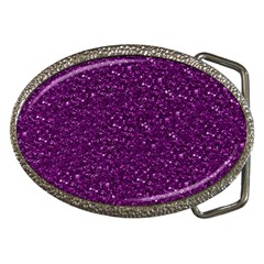 Sparkling Glitter Plum Belt Buckles by ImpressiveMoments