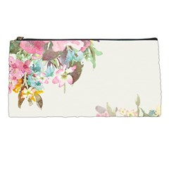 Vintage Watercolor Floral Pencil Cases by PipPipHooray