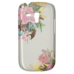 Vintage Watercolor Floral Samsung Galaxy S3 Mini I8190 Hardshell Case by PipPipHooray
