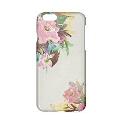 Vintage Watercolor Floral Apple Iphone 6 Hardshell Case by PipPipHooray