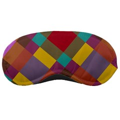 Shapes Pattern Sleeping Mask by LalyLauraFLM
