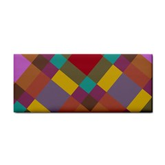 Shapes Pattern Hand Towel by LalyLauraFLM