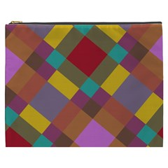 Shapes Pattern Cosmetic Bag (xxxl) by LalyLauraFLM