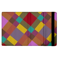 Shapes Pattern Apple Ipad 3/4 Flip Case by LalyLauraFLM