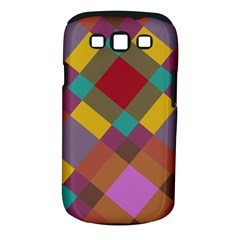 Shapes Pattern Samsung Galaxy S Iii Classic Hardshell Case (pc+silicone)