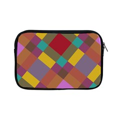 Shapes Pattern Apple Ipad Mini Zipper Case by LalyLauraFLM