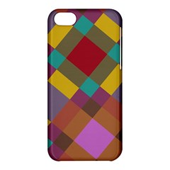 Shapes Pattern Apple Iphone 5c Hardshell Case by LalyLauraFLM