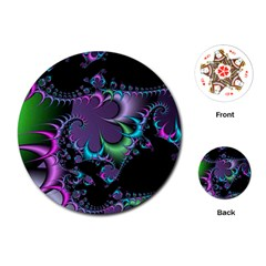 Fractal Dream Playing Cards (round)