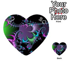 Fractal Dream Playing Cards 54 (heart)