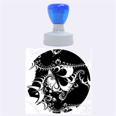 Fractal Dream Rubber Round Stamps (large)