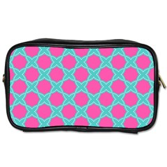 Cute Pretty Elegant Pattern Toiletries Bags 2 Side