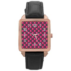 Cute Pretty Elegant Pattern Rose Gold Watches by creativemom