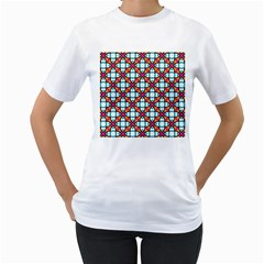 Pattern 1284 Women s T-Shirt (White) (Two Sided)