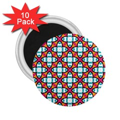 Pattern 1284 2.25  Magnets (10 pack)