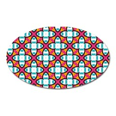Pattern 1284 Oval Magnet