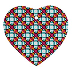 Pattern 1284 Heart Ornament (2 Sides)