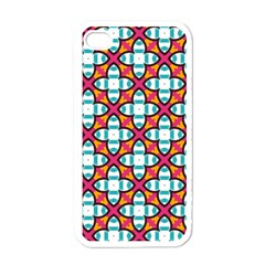 Pattern 1284 Apple iPhone 4 Case (White)