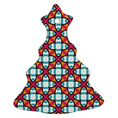 Pattern 1284 Christmas Tree Ornament (2 Sides)