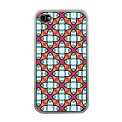 Pattern 1284 Apple iPhone 4 Case (Clear)