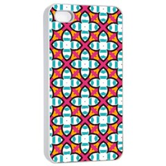 Pattern 1284 Apple iPhone 4/4s Seamless Case (White)