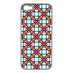 Pattern 1284 Apple Iphone 5 Case (silver) by creativemom