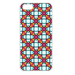 Pattern 1284 Apple iPhone 5 Seamless Case (White)