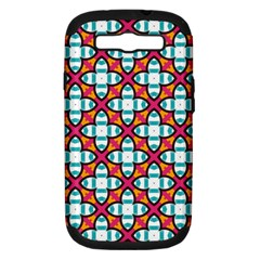 Pattern 1284 Samsung Galaxy S III Hardshell Case (PC+Silicone)