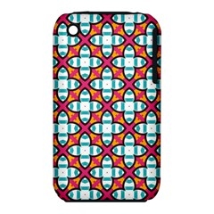 Pattern 1284 Apple iPhone 3G/3GS Hardshell Case (PC+Silicone)