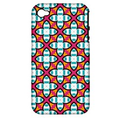 Pattern 1284 Apple iPhone 4/4S Hardshell Case (PC+Silicone)