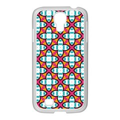 Pattern 1284 Samsung Galaxy S4 I9500/ I9505 Case (white) by creativemom