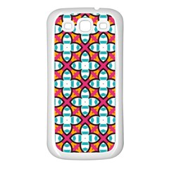 Pattern 1284 Samsung Galaxy S3 Back Case (white) by creativemom