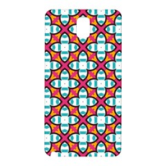 Pattern 1284 Samsung Galaxy Note 3 N9005 Hardshell Back Case