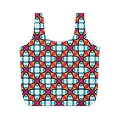 Pattern 1284 Full Print Recycle Bags (M)