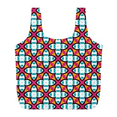 Pattern 1284 Full Print Recycle Bags (L)
