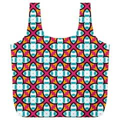 Pattern 1284 Full Print Recycle Bags (l)  by creativemom