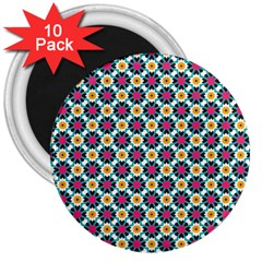 Pattern 1282 3  Magnets (10 Pack)  by creativemom