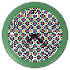 Pattern 1282 Color Wall Clocks by creativemom
