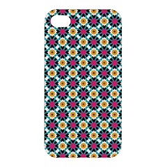 Pattern 1282 Apple Iphone 4/4s Premium Hardshell Case by creativemom