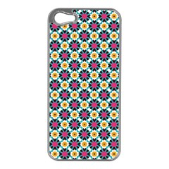 Pattern 1282 Apple Iphone 5 Case (silver) by creativemom
