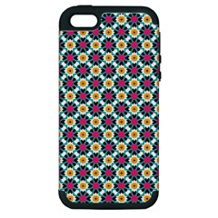 Pattern 1282 Apple Iphone 5 Hardshell Case (pc+silicone) by creativemom