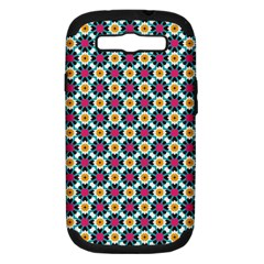 Pattern 1282 Samsung Galaxy S Iii Hardshell Case (pc+silicone) by creativemom