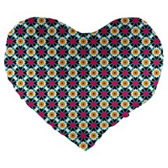 Pattern 1282 Large 19  Premium Heart Shape Cushions by creativemom